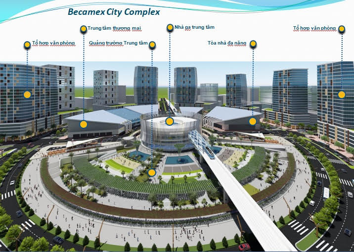 Forming a world trade center in Binh Duong contributes to create a