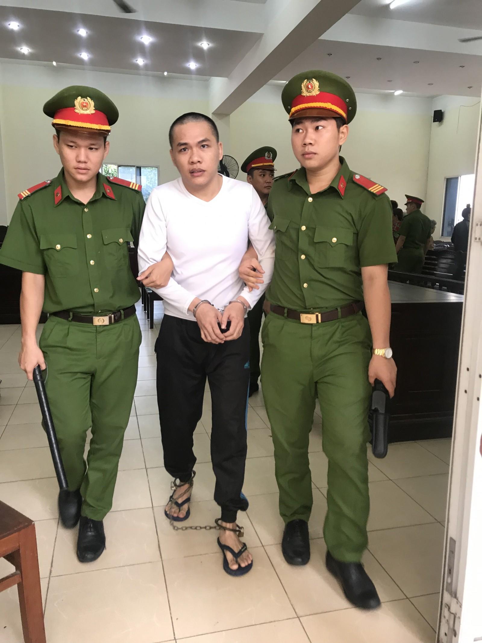 Bị cáo Đường Văn Tài nhận mức án t.ử hình cho tội a