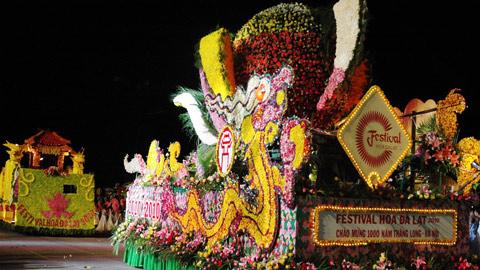 Rực rỡ những màu hoa của Thành phố festival hoa.