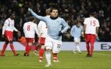 Vòng 20 Premier League: Đánh bại Blackburn, Man City vươn lên vị trí thứ 4