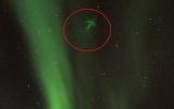 Vật thể lạ trên bầu trời Na Uy