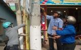 Hơn 200 đoàn viên thanh niên TX TDM ra quân dọn dẹp đường phố