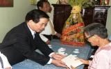 Hình ảnh Chủ tịch nước Nguyễn Minh Triết thăm và chúc tết Bình Dương