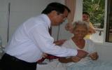 Lãnh đạo tỉnh thăm, chúc tết cán bộ viên chức Bệnh viện Đa khoa tỉnh