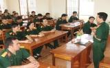Ban Chỉ huy Quân sự huyện Dĩ An: Đẩy mạnh học tập và làm theo gương Bác gắn với thi đua quyết thắng