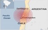 Động đất 8,8 độ Richter ở Chile, ít nhất 47 người thiệt mạng