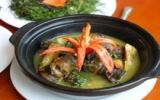 Lươn om cà tím