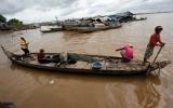 Sông Mê Kông cạn kỷ lục, hàng chục triệu người bị ảnh hưởng