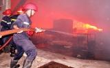 Một vụ cháy lớn ở khu công nghiệp Tân Tạo