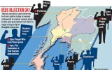 """Nhân viên du lịch Thái Lan biểu tình lớn phản đối """"áo đỏ"""""""