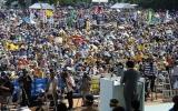 Người Nhật biểu tình rầm rộ phản đối căn cứ  Mỹ