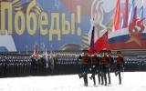 Hơn 10.000 binh lính Nga diễu binh tại Quảng trường Đỏ