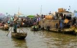 Bồng bềnh trên dòng Mekong