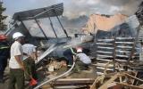 Cháy lớn tại công ty chế biến gỗ
