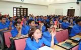 Cơ sở Đoàn Chi nhánh Ngân hàng Ngoại thương Bình Dương: Gắn công tác Đoàn với nhiệm vụ chuyên môn