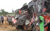Xe khách đấu đầu, 43 người thương vong