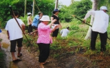 Nông dân xã An Sơn, huyện Thuận An: Giúp nhau vượt khó, xóa nghèo