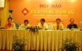 Festival gốm sứ Việt Nam - Bình Dương 2010: Tôn vinh lịch sử ngành gốm