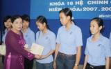 Trường Trung cấp Kinh tế Bình Dương: Trao bằng tốt nghiệp cho 270 học sinh