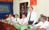 Ủy viên Bộ Chính trị, Trưởng ban Tuyên giáo Trung ương Tô Huy Rứa: Thăm và làm việc với Ban Tuyên giáo Tỉnh ủy