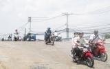 Đã thông xe cầu tạm qua kênh Ba Bò