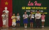 Liên hoan các nhóm Tuyên truyền măng non huyện Thuận An hè 2010: Vui tươi và ý nghĩa