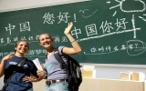 Trung, Mỹ sôi sục học tiếng của nhau