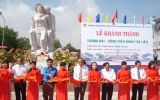 Khánh thành Tượng đài - công viên Đoàn Thị Liên