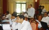 """Chất vấn và trả lời chất vấn tại kỳ họp thứ 17 HĐND khóa VII: """"Nóng"""" các vấn đề giao thông, xây dựng"""