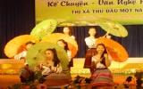 Hội thi kể chuyện & văn nghệ học sinh TX.TDM hè 2010: Trường THCS An Mỹ nhất toàn đoàn khối THCS