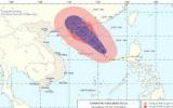 Tâm bão số 2 cách Hoàng Sa 380km về phía Đông