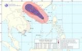 Bão số 2 cách quần đảo Hoàng Sa 330km