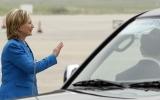 Ngoại trưởng Mỹ Hillary Clinton đến Hà Nội