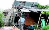 Mưa to gió lớn đã gây thiệt hại nặng tại Kiên Giang