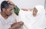 Cụ bà 108 tuổi giữ chồng trẻ bằng thuật massage