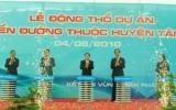 Động thổ khởi công xây dựng 3 tuyến đường trọng điểm tại huyện Tân Uyên