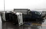 Bão đổ bộ vào Hàn Quốc, 3 người chết
