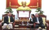 Chủ tịch UBND tỉnh Nguyễn Hoàng Sơn tiếp Đại sứ Singapore