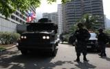 Giải thoát 30 con tin bị bắt cóc tại khách sạn ở Brazil