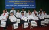 Công ty P&G Việt Nam: Trao học bổng cho học sinh nghèo vượt khó