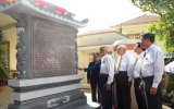 Khánh thành bia lưu niệm sự kiện lịch sử ngày 25-8-1945 tại Phú Cường