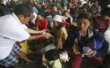 Hàng ngàn người tháo chạy khi núi lửa phun trào ở Indonesia
