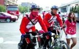 Cha đạp xe 3.500 km đưa con nhập học