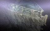 Công bố ảnh mới nhất về tàu Titanic dưới Đại Tây Dương