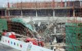 TP.HCM: Sập công trình trung tâm thương mại ở Phú Mỹ Hưng