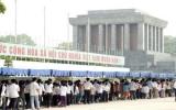 Hơn 36.000 người vào Lăng viếng Hồ Chủ tịch trong ngày 2-9
