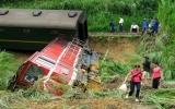 Lật tàu Hà Nội - Lào Cai, hai bà cháu tử nạn