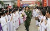 Lực lượng vũ trang huyện Dĩ An: Tham mưu tốt công tác giáo dục quốc phòng - an ninh