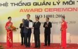 Việt Nam – Singapore: KCN đầu tiên đạt chứng chỉ hệ thống quản lý môi trường ISO 14001:2004