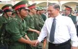 TX.Thủ dầu một, Thuận An: Tưng bừng ngày hội giao quân năm 2010